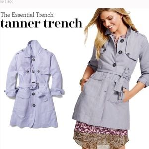 CAbi Tanner Trench Coat Pale Lavender